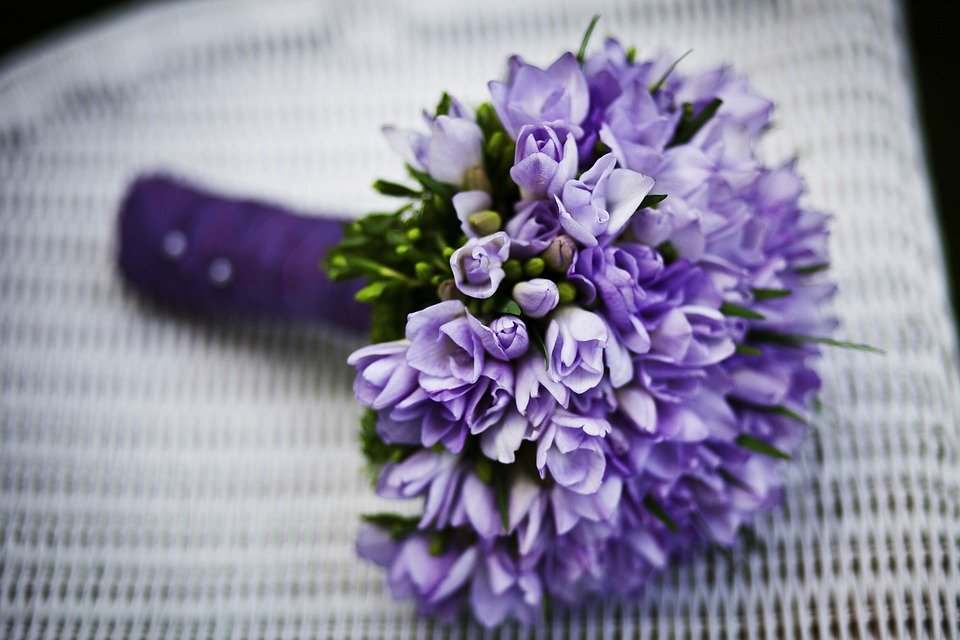 agradecer regalo de flores
