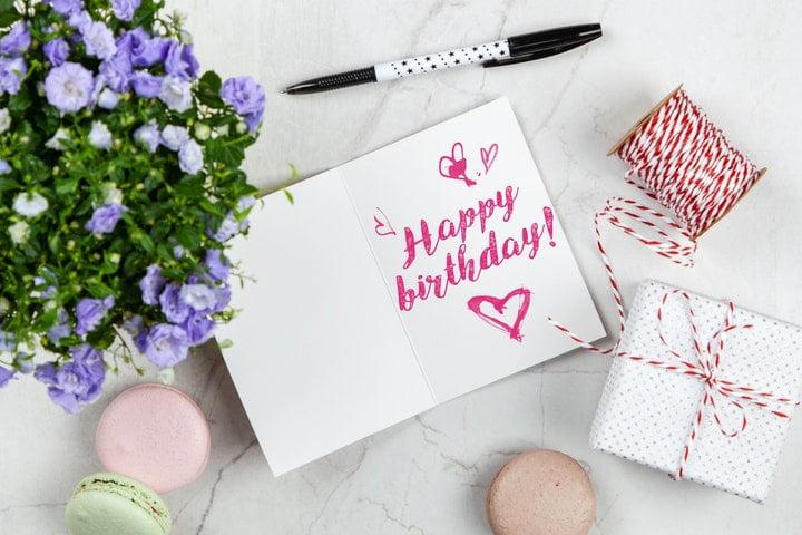 Mensaje por cumpleaños antiguo